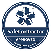 Alcumus SafeContractor Approved Logo